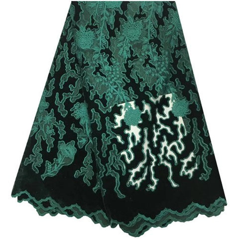 Image of Latest African Tulle Lace Fabrics High Quality 2019 Velvet Lace Fabric With Sequins For Fashion Nigerian Lace Dresses 1419