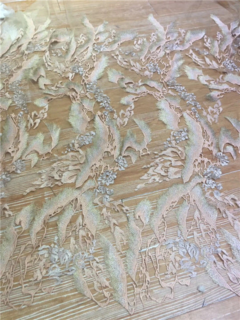 High class African lace fabric 2018 Luxury french tulle lace fabric for party