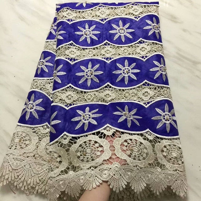 yellow african guipure lace with beads bazin riche getzner 2018 beaded guinea brocade fabric high quality for wedding AD400