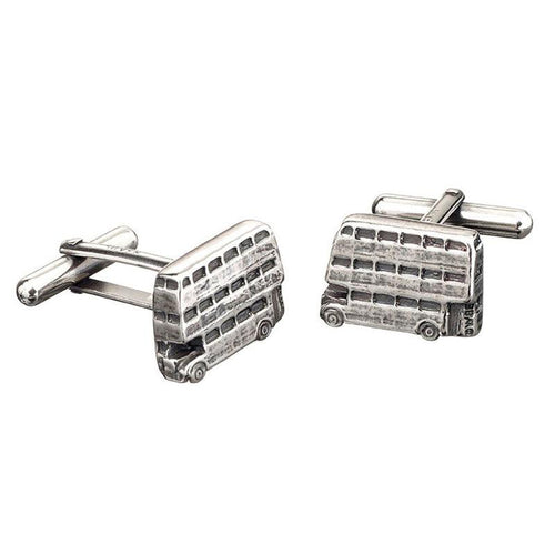 Harry Potter Sterling Silver Knight Bus silver cufflinks