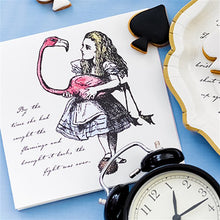 Load image into Gallery viewer, Truly Alice in Wonderland Paper Napkins Pack of 20