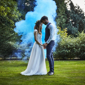 Ginger Ray Blue Wedding Smoke Bomb