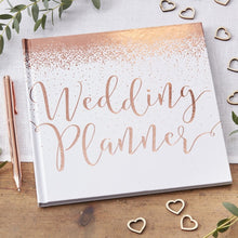 Load image into Gallery viewer, Ginger Ray Rose Gold Wedding Planner