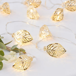 Ginger Ray Gold Vine String Lights