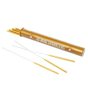 Mini Gold Tube Sparklers