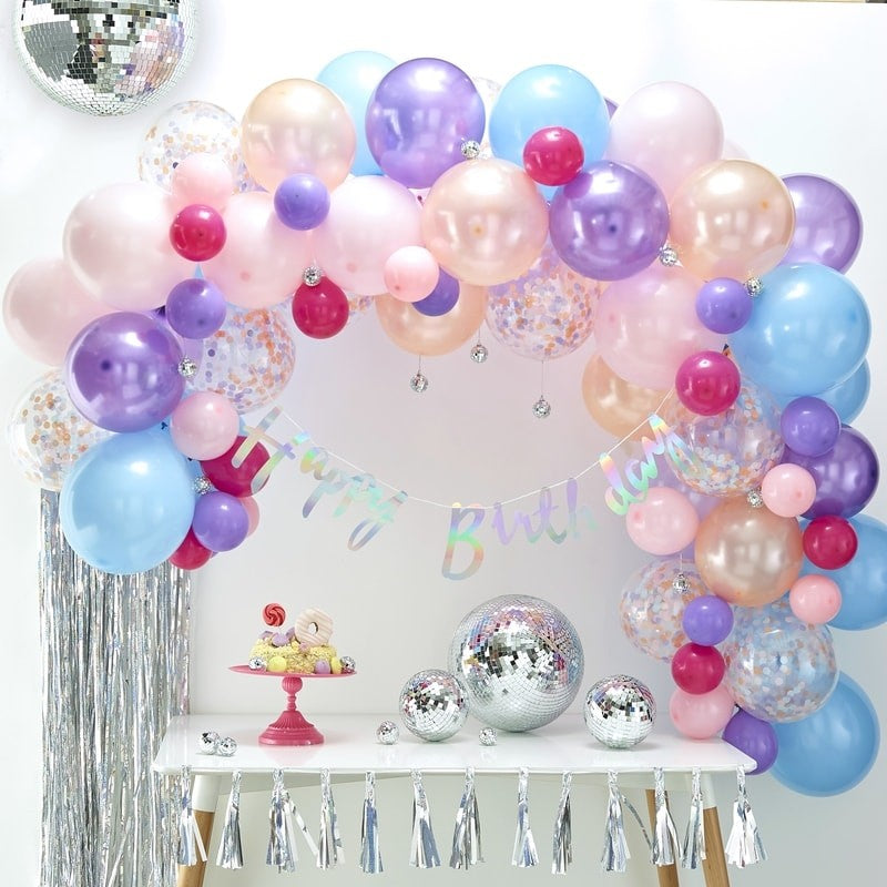 Ginger Ray Pastel Balloon Arch Kit