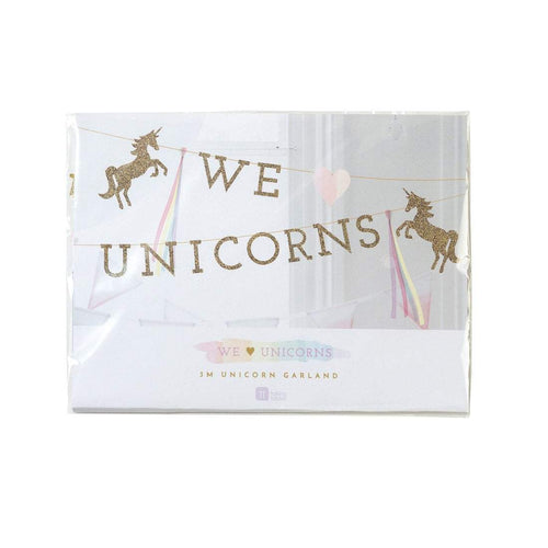 Talking Tables We ♥ Unicorns Magical Garland