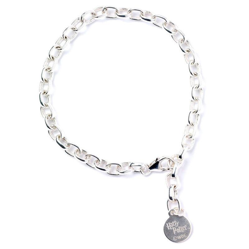 Official Harry Potter Charm Bracelet Sterling Silver - Adult