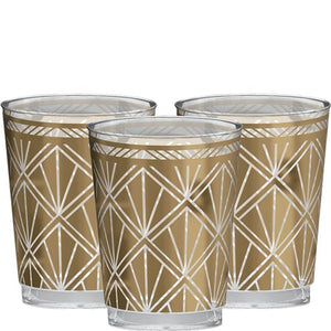 Hollywood Prismatic Plastic Tumblers