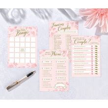 Load image into Gallery viewer, Lillian Rose Set of 4 Bridal Shower Games