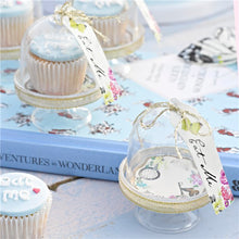 Load image into Gallery viewer, Truly Alice in Wonderland Cake Dome, Tag & Doily Set of 6