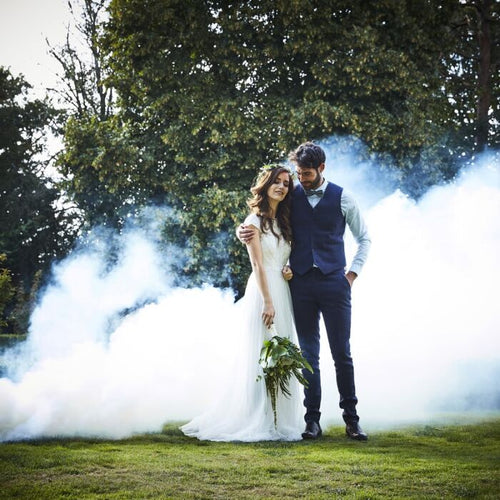 Ginger Ray White Wedding Smoke Bomb