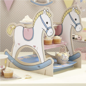 Ginger Ray Rocking Horse 3 Tier Cake Stand