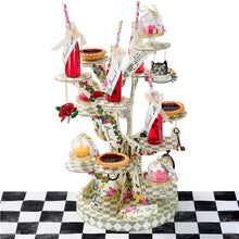 Load image into Gallery viewer, Truly Alice in Wonderland Teapot Cake Stands