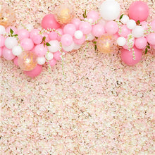 Load image into Gallery viewer, Pink Hydrangea Silk Flower Wall