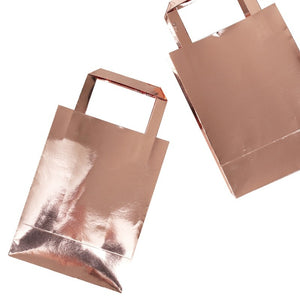 Ginger Ray Rose Gold Party Bags Pack of 5