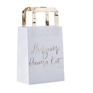 Ginger Ray Hen Party Gold Hangover Recovery Party Bags Pack of 5