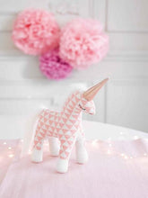 Load image into Gallery viewer, Talking Tables We ♥ Unicorns Plush Toy