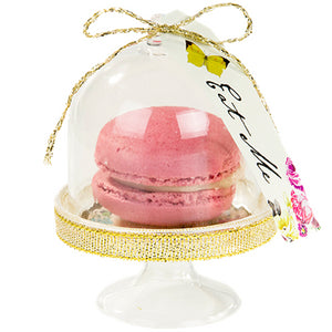 Truly Alice in Wonderland Cake Dome, Tag & Doily Set of 6