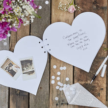 Load image into Gallery viewer, Ginger Ray Kraft Heart Wedding Guest Book