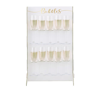 Ginger Ray Prosecco Bubbly Drinks Wall Holder