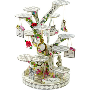 Truly Alice in Wonderland Teapot Cake Stands