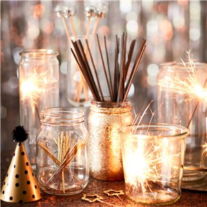 Mini Silver Tube Sparklers