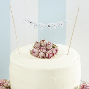 Ginger Ray Mr & Mrs Cake Bunting