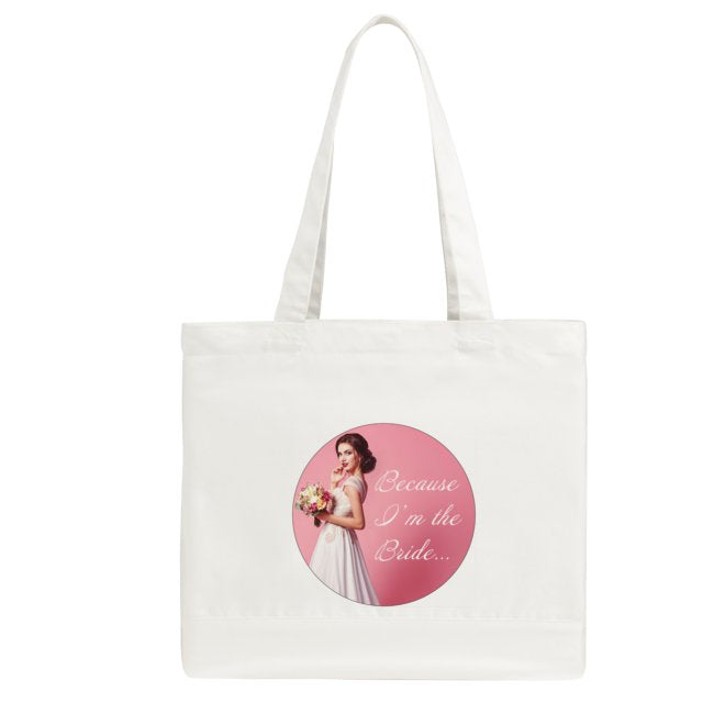 Because I'm the Bride Small Tote Bag