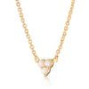 Load image into Gallery viewer, Opal Trinity Necklace with Slider Clasp