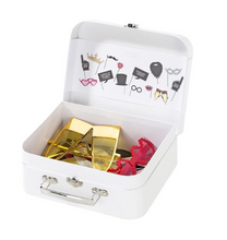 Load image into Gallery viewer, Talking Tables Wedding Photobooth Props Suitcase