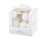 Load image into Gallery viewer, Talking Tables White Pom Pom Lights