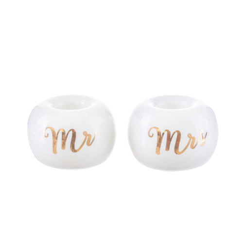 Sass & Belle Mr & Mrs Toothbrush Holders