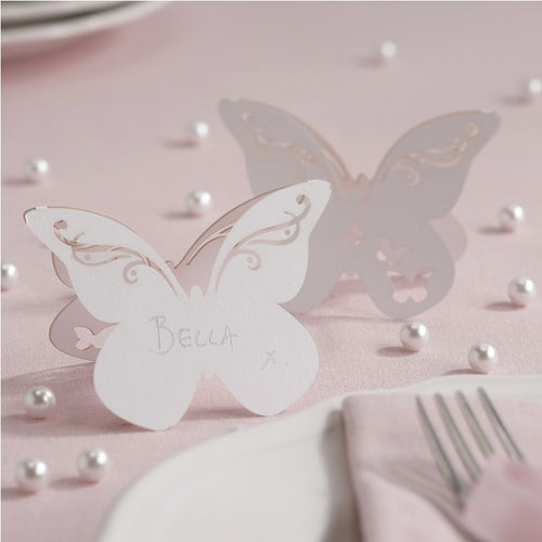 Ginger Ray Butterfly Shaped Place Card