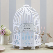 Load image into Gallery viewer, Ginger Ray Wedding Post Box Birdcage