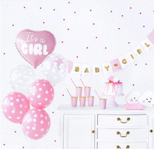 Load image into Gallery viewer, It's A Girl Baby Shower Party Set