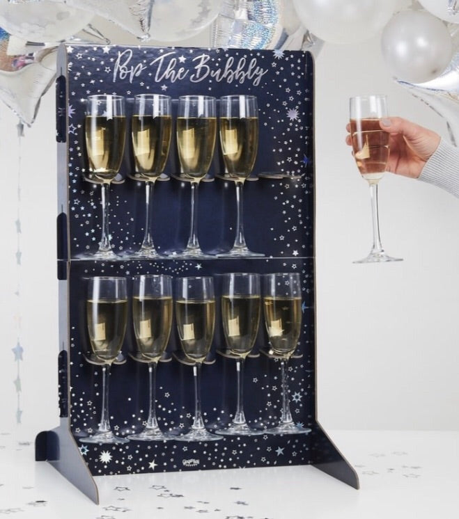 Ginger Ray Prosecco Pop the Bubbly Drinks Wall Holder