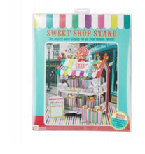 Load image into Gallery viewer, Multi Coloured Stripe Sweet Shop Stall