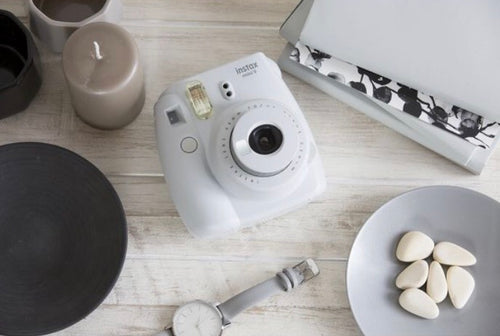 Instax Mini 9 White Instant Camera