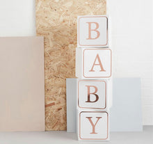 Load image into Gallery viewer, Hello Little One Giant Baby Blocks