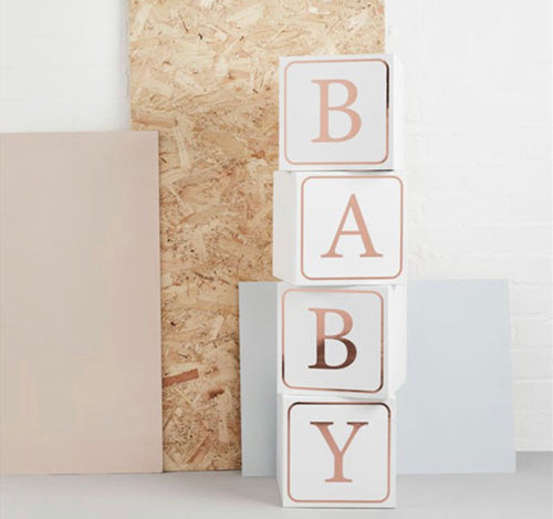 Hello Little One Giant Baby Blocks