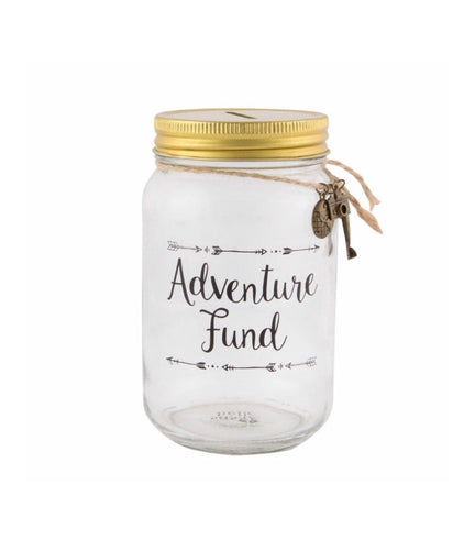 Sass and Belle Adventure Fund Jar