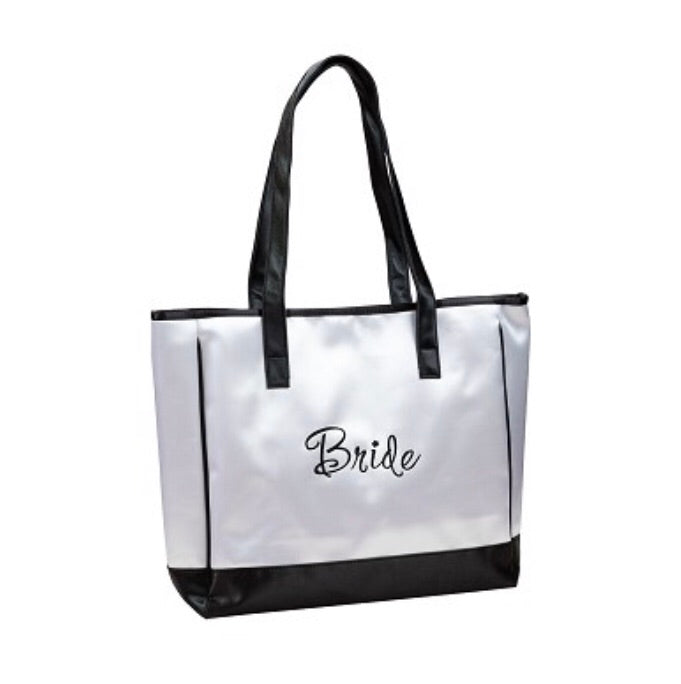 Lillian Rose Bride Honeymoon White Tote Bag