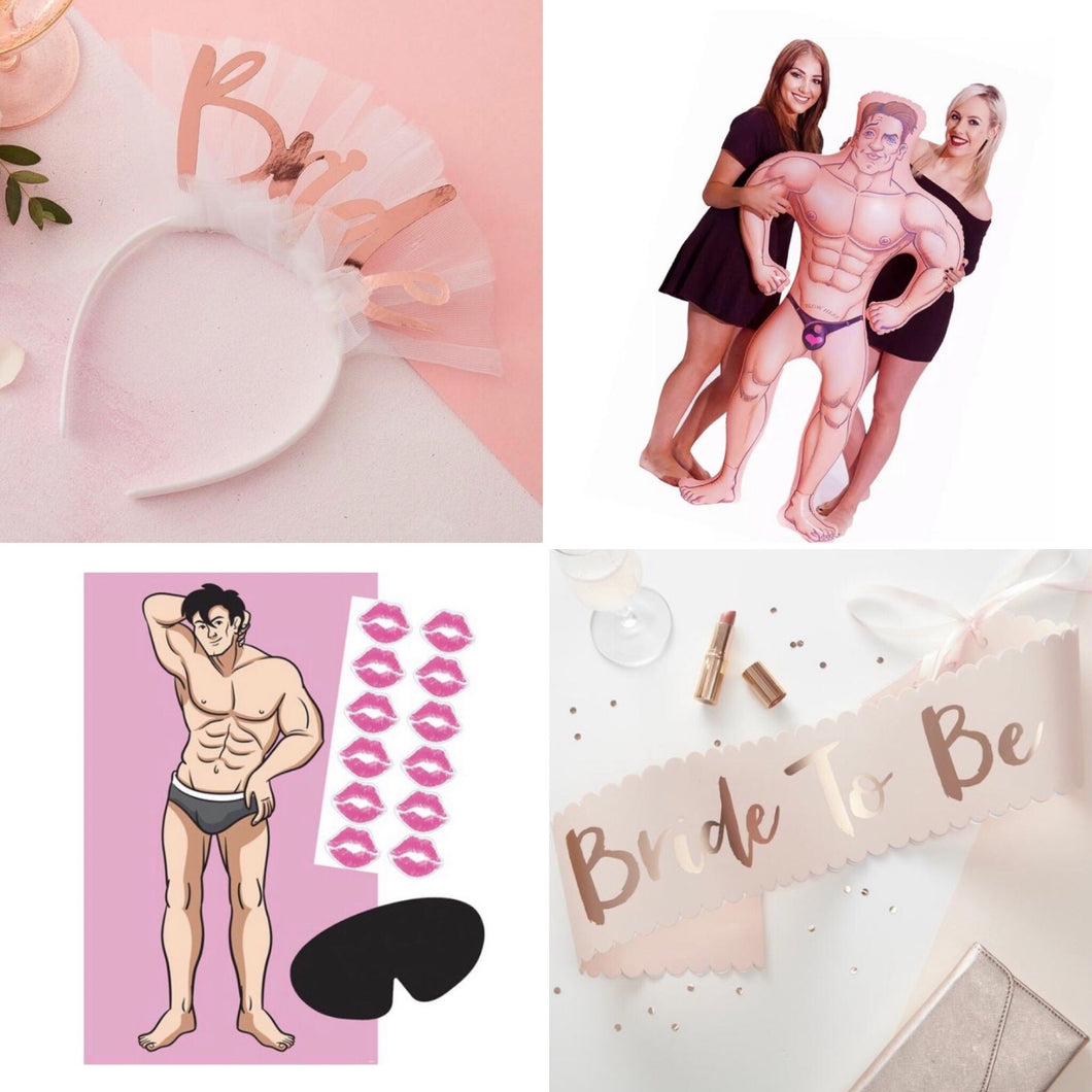 Because I'm the Bride Starter Hen Party Pack