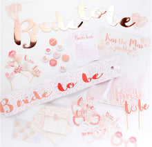 Load image into Gallery viewer, Bride To Be Hen Party Kit