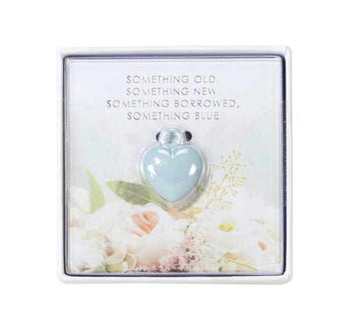 Talking Tables Wedding Lucky Blue Heart Charm