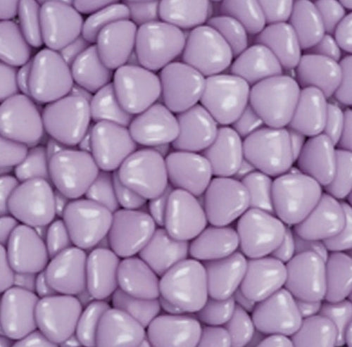 Lilac Chocolate Hearts 1kg