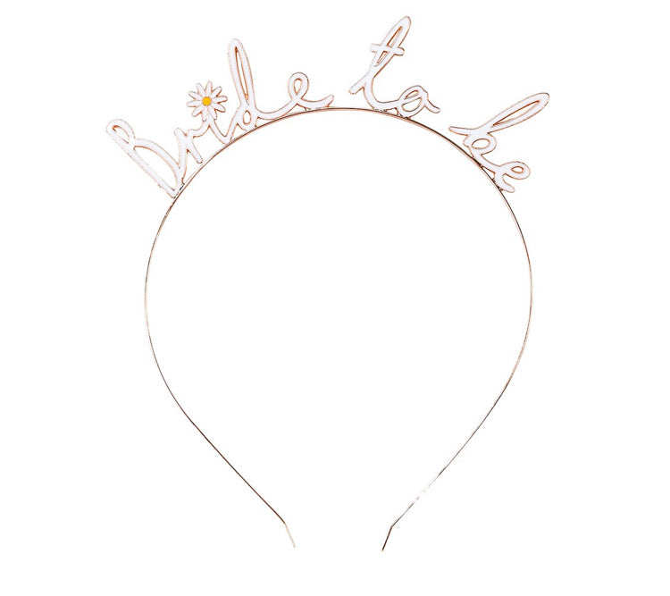 Talking Tables Blossom Bride Bride To Be Headband