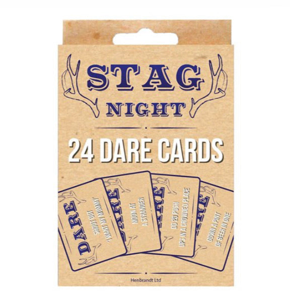 Stag Night Dare Cards