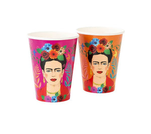 Frida Kahlo™ Large Paper Cups Pack of 12